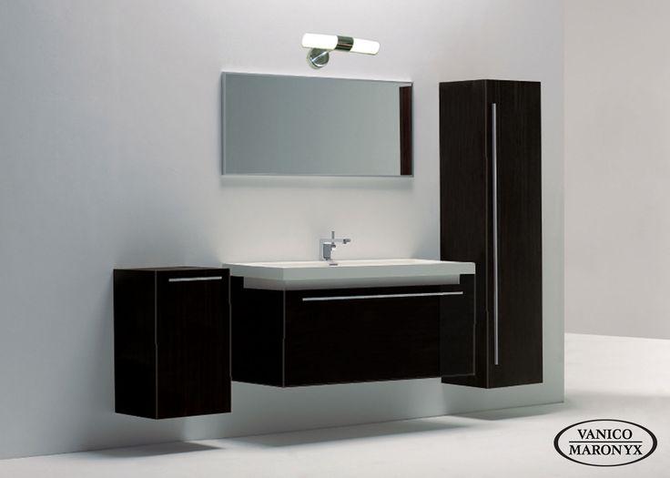 Mobilier de salle de bain NUOVA de la SÉRIE EXPRESS - VANICO MARONYX. Disponible chez Montréal - Les - Bains