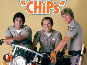 "CHIPS ~ American television drama series that aired on NBC from 1977 to 1983. CHIPs followed the lives of 2 motorcycle police officers of the California Highway Patrol, Baker  Ponch. CHIPs followed the adventures of 2 hunky California Highway patrolmen, Francis ""Ponch"" Poncherello (Erik Estrada) and Jon Baker (Larry Wilcox). ."
