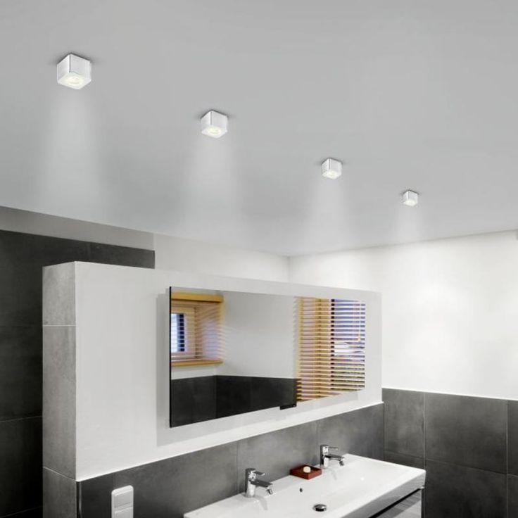 Die besten 25+ Led spots bad Ideen auf Pinterest Led netz - badezimmer beleuchtung decke