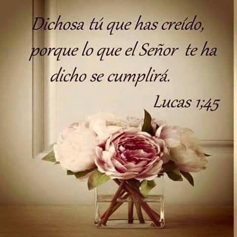 Lucas 1:45 Amén