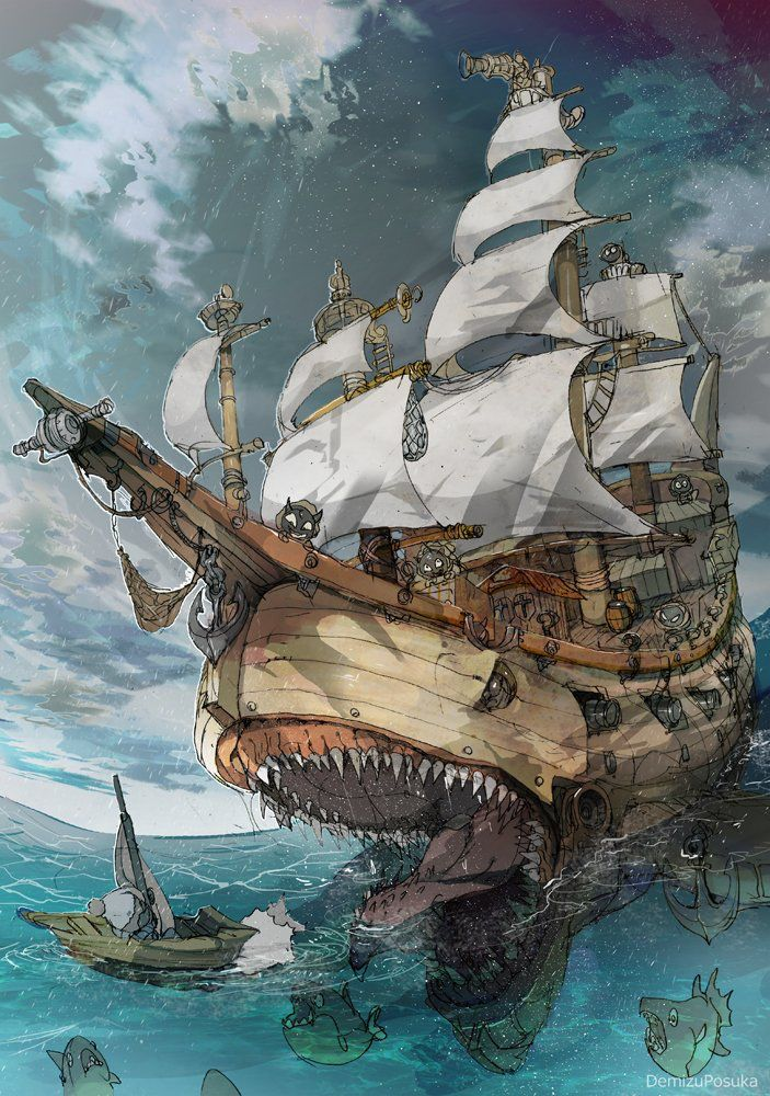 Adventures by sea from art of old time