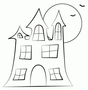 73 best w drawing spooky houses images on pinterest paper haunted house digi stamp pronofoot35fo Gallery