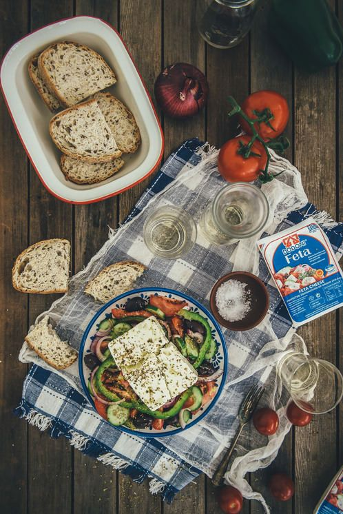 How To Make a Classic Greek Salad (Souvlaki For The Soul)