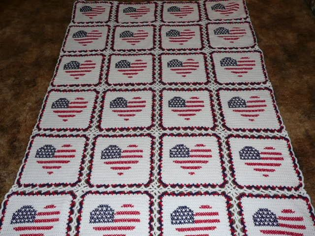 Snap Red White And Blue Heart Flags Very Patriotic By Maltesedreamer