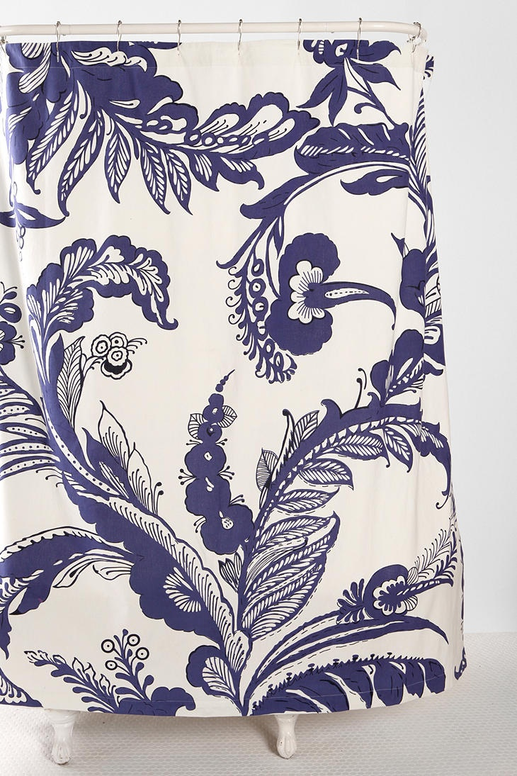 Navy Blue Shower Curtain  19 99  Could DIY into great pillow covers Top 25  best Navy blue shower curtain ideas on Pinterest  . Navy Blue And White Shower Curtain. Home Design Ideas