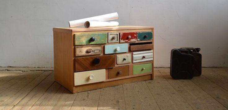 Sideboard from old drawers (artKRAFT Furniture&Design)
