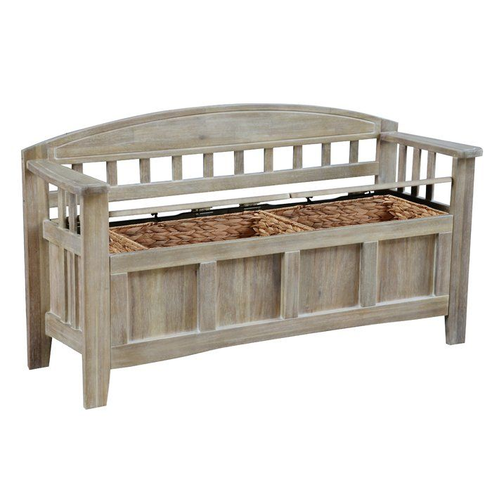 Apruva Wood Storage Bench In 2020 Indoor Storage Bench Storage Bench Entryway Bench Storage