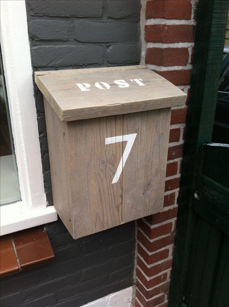 Post - mail - postbus - steigerhout