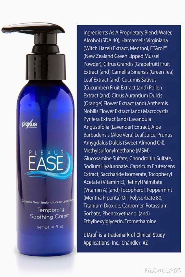 Ease cream www.aliciamonsen.myplexusproducts.com