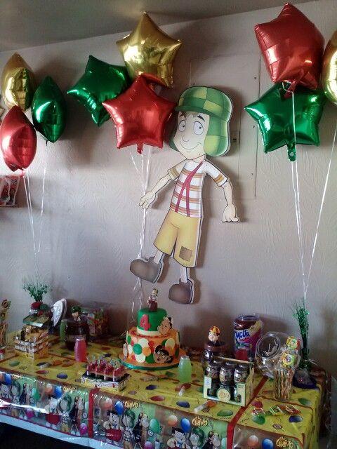 Chavo party theme