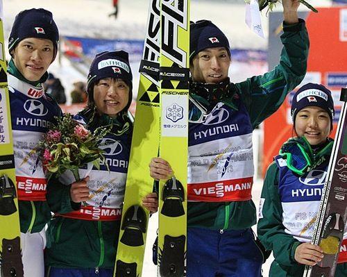 あっぱれ!- FIS Nordic World Ski Championships 2013 Val di Fiemme (ITA) Ski Jumping Normal Hill Mixed Team