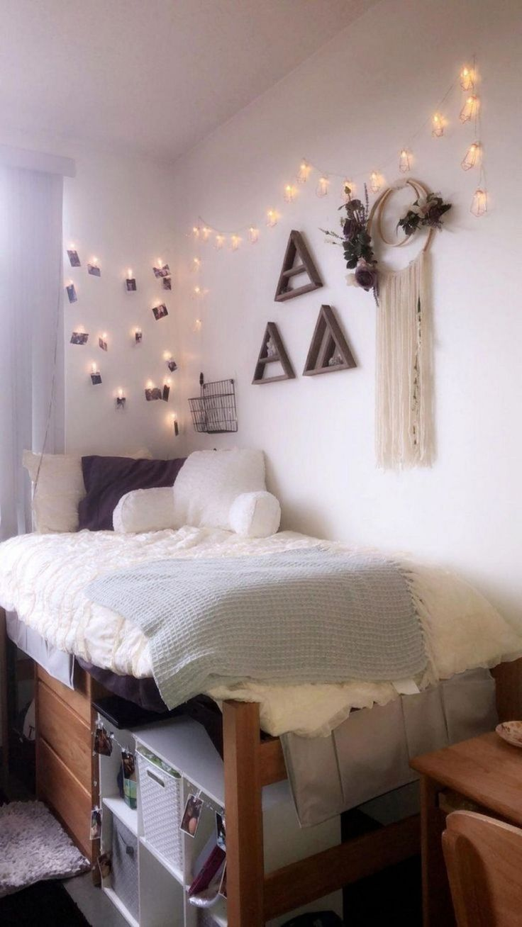 49 fantastic college bedroom decor ideas and remodel 35