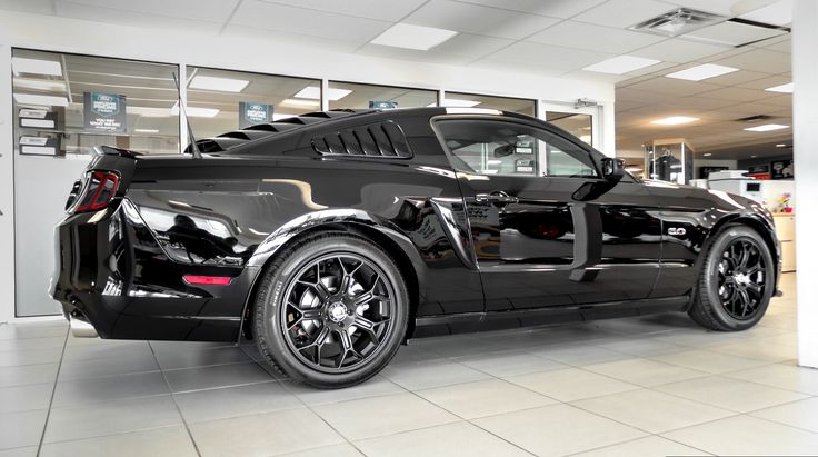 modified kentwood kustoms 2014 roush powered ford mustang gt black widow edition bad in black pinterest new ford mustang ford mustang gt and ford - 2014 Ford Mustang Gt Black