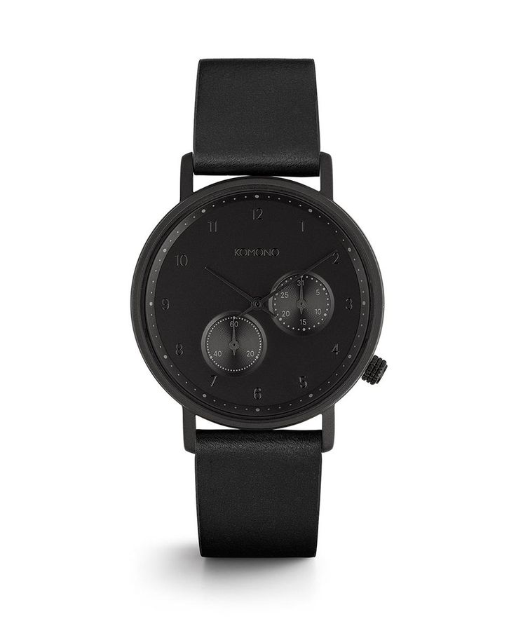 Komono WALTHER WATCH RAVEN | Watches | Accessories | Shop Mens | General Pants Online