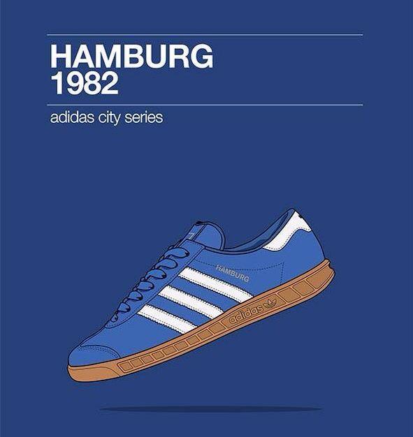 adidas Originals Hamburg | Bola kaki, Kasual, Gaya kasual
