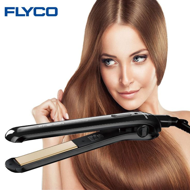 Flyco Professionnel cheveux électrique céramique fer Défrisage de cheveux de Fer plat Styling Outils de cheveux Sec et Humide FH6812