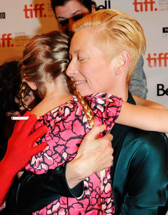 10 Times Tilda Swinton Looked Like A Vampire In Real Life