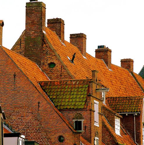Roofs of Amersfoort #Netherlands