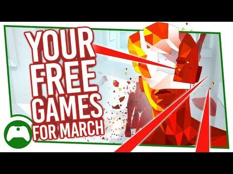 Xbox Games With Gold for March are coming – here are the four free games Xbox Live Gold subscribers can download. Will you dodge bullets in Superhot, ride deadly ramps in Trials of the Blood Dragon or flip your brain around in Quantum Conundrum. Let us know in the comments. Subscribe to...
