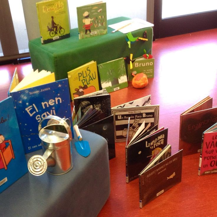 Preparant les visites de les llars d'infants a la biblioteca! esperem que els agradi! #biblioteca #leer #lectura #infantil #infantil #niños