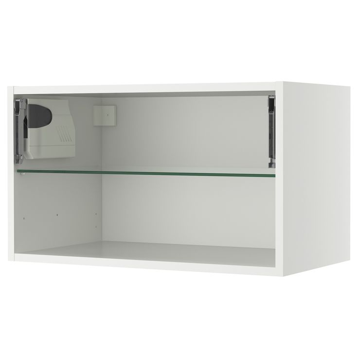 AKURUM Wall cabinet framehorizontal  white 30x15