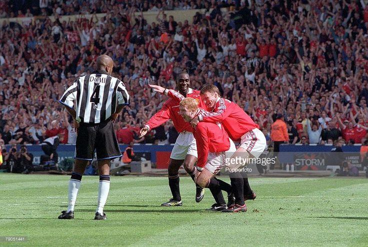 1999 FA Cup final goal celebration!