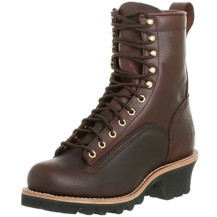 Chippewa Men's 8' Lace-to-Toe 73075 Logger Boot ** Unbelievable outdoor item right here! : Men's boots