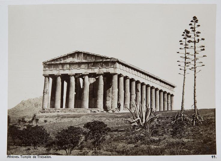 https://flic.kr/p/TuDHDX | Ο Ναός του Ηφαίστου (Θησείο) | ΔΗΜΗΤΡΙΟΣ ΚΩΝΣΤΑΝΤΙΝΟΥ, περίπου 1875 Hallwyl Museum commons.wikimedia.org/wiki/Category:Historical_images_of_...