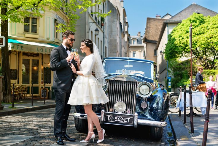 Vintage wedding style - My Dream Intimate Wedding In Paris