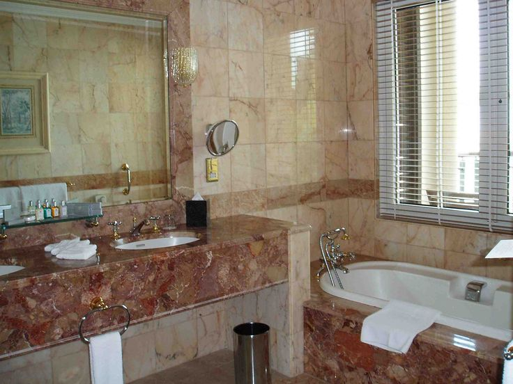 Wonderful Bathroom Interior Design With Brown Marble  Interior Interesting Wonderful Bathroom Designs Design Inspiration