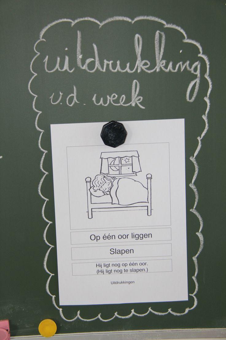 Woordenschat | Meester Tim Uitdrukking van de week.