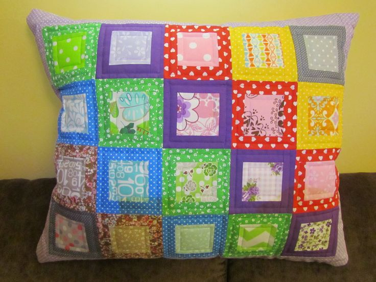 quilt pillow for Adaś 50x60 cm