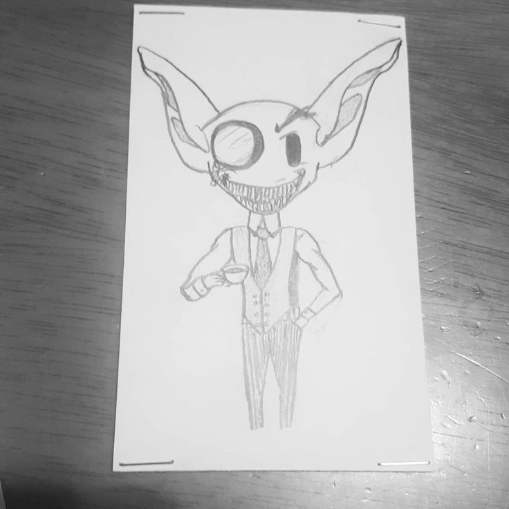 """8 Likes, 3 Comments - CrabPig Productions (@crab_pig) on Instagram: """"This is apparently version 2 of Mr. Jitters the goblin. Which means I have to recall my…"""""""