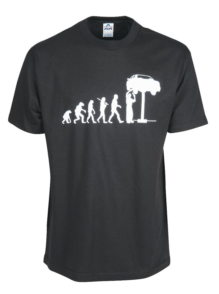 The Evolution of the Mechanic T-Shirt  $19.95