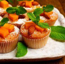 Осенний рецепт: тыквенные кексы