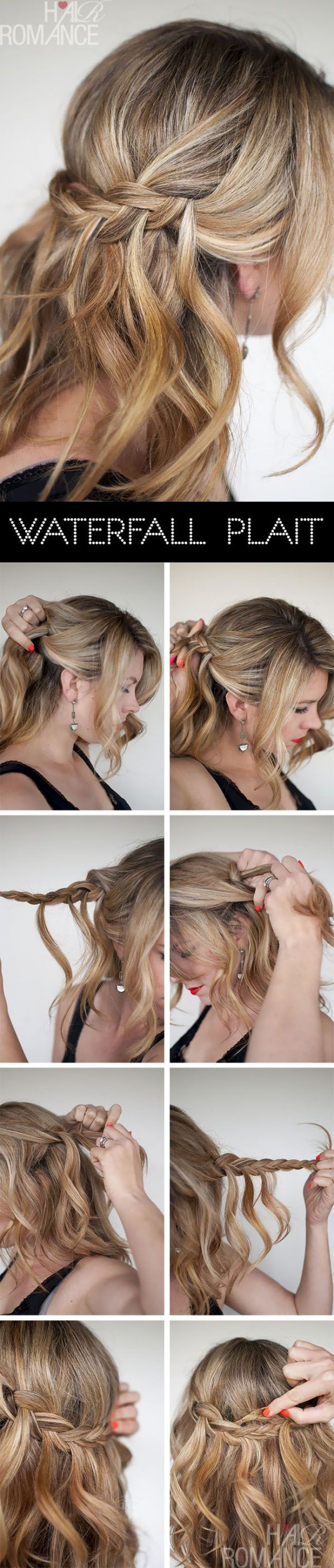 Amazing Half Up Half Down Hairstyle Tutorials 2015