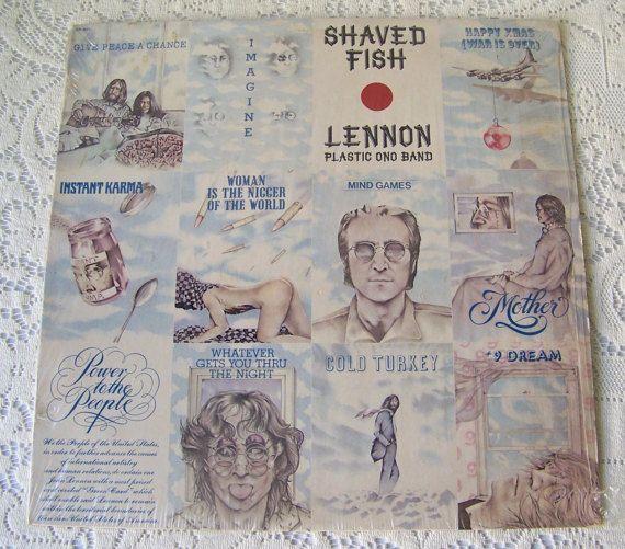 17 best images about vinyl records on pinterest vinyls for John lennon shaved fish