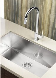 A perfect #sink for your #kitchen at Vizzini. All our sinks are sturdy, corrosion resistant, & require next to no maintenance.