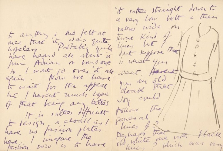 Letter from Vanessa Bell to Virginia Woolf, May 10, 1916