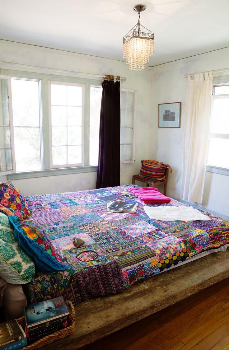 Экскурсия По Дому: Творческий Калифорния Бунгало & Задворк | Квартира Терапия