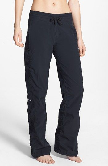 love lululemon's version but these are cheaper and look exactly the same. Under Armour 'Icon' Pants available at #Nordstrom