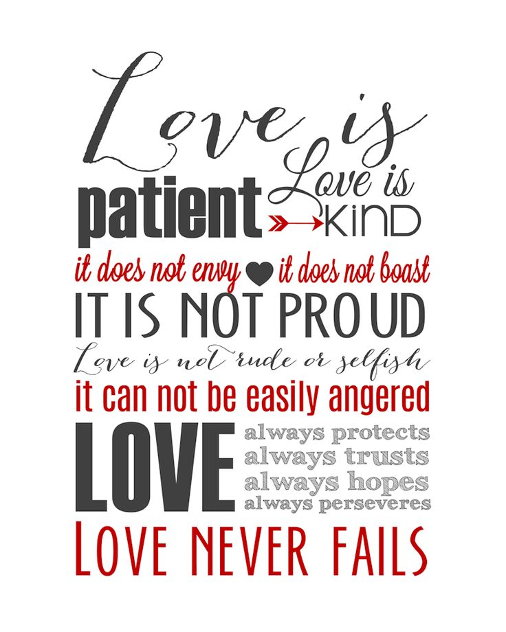 Image result for love is patient corinthians