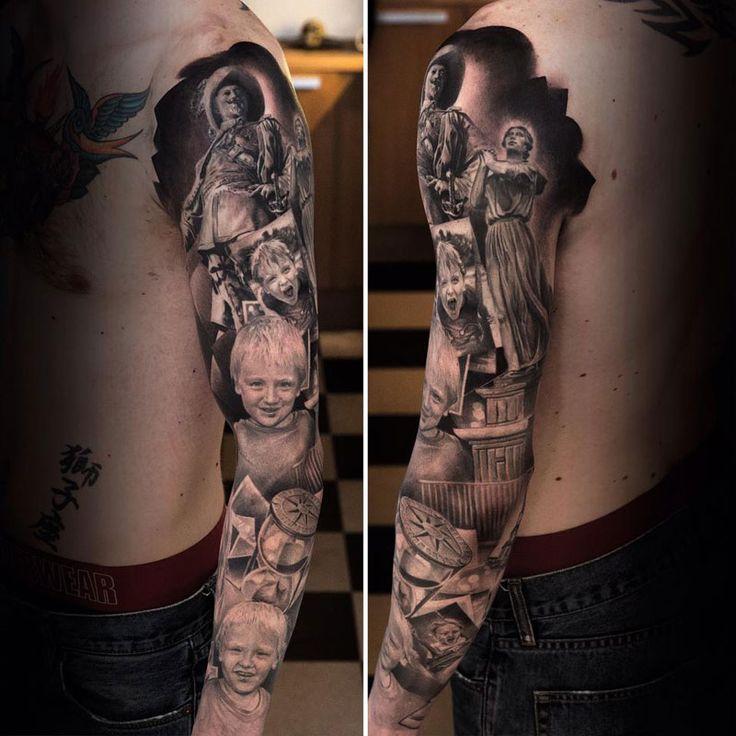 Swedish tattoo artist Niki Norberg.