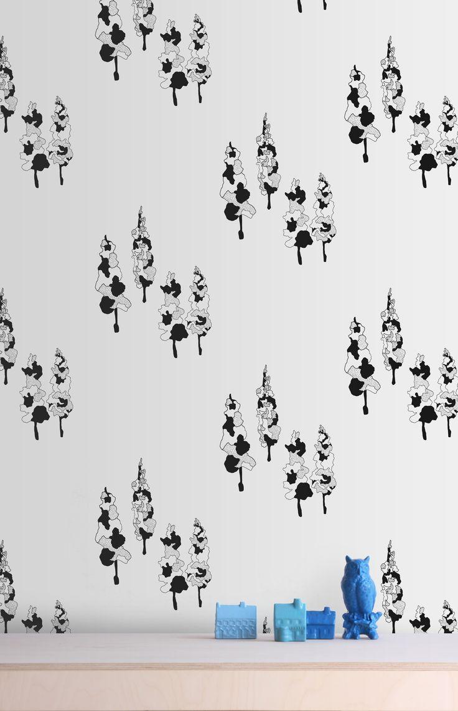 Trees Wallpaper – White