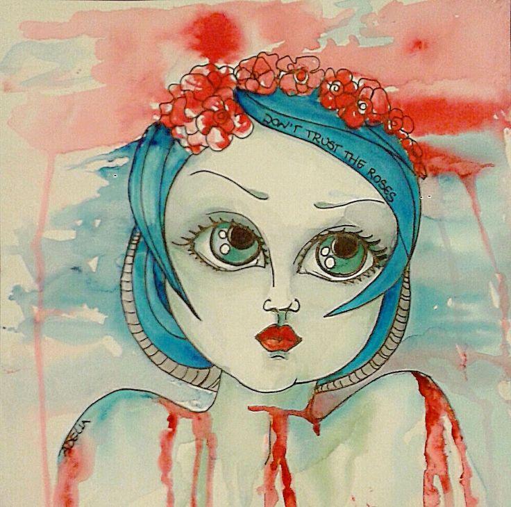 Fafù Factory: Paint a lot. Don't trust the roses.