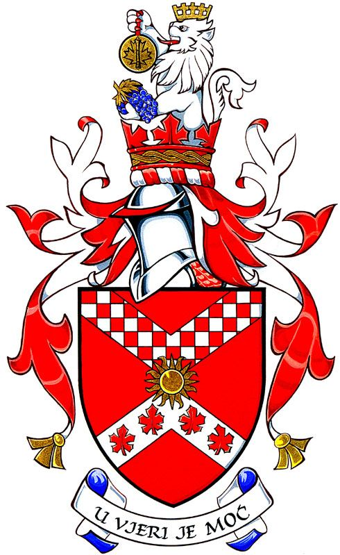 Crests Hungary Family Coats Arms