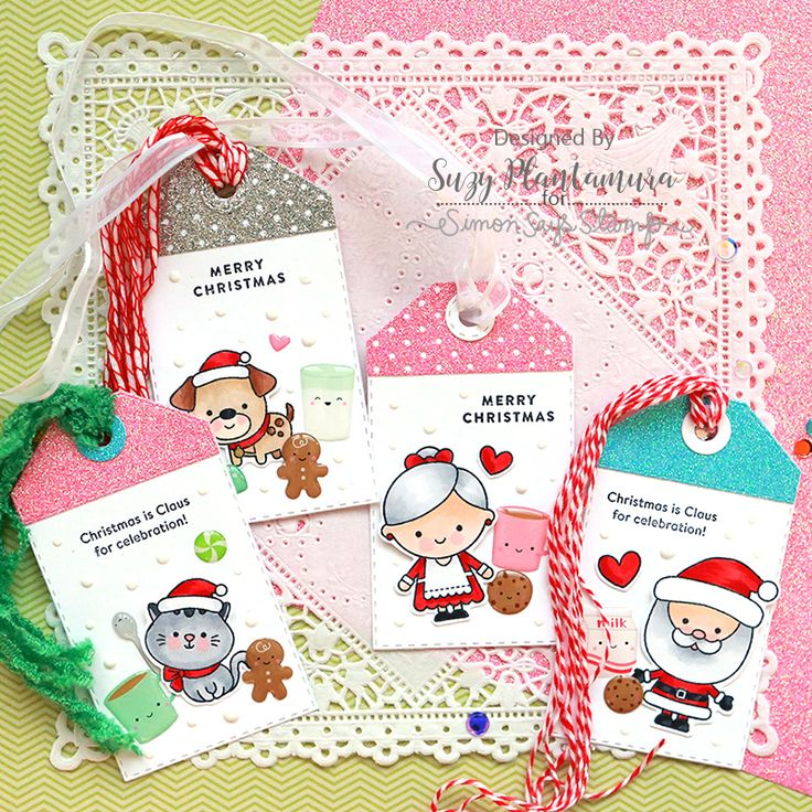 Simon Says Stamp Card Kit of The Month DECEMBER 2017 MILK AND COOKIES ck1217 Preview Image