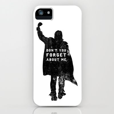 John Bender Doesn't Want You To Forget iPhone & iPod Case by LookHUMAN  - $35.00