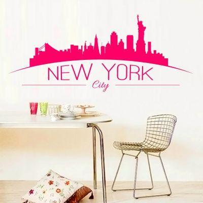 Sticker decorativ New York City