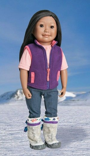 Just ordered this gorgeous Canadian doll from the Maplelea website #MapleleaHoliday Hi! My name is Saila Qilavvaq My home is in Iqaluit, Nunavut. I speak English and Inuktitut and am proud of my Inuit heritage.